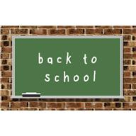 An image showing a chalkboard with Back To School written on it - lessons to be learned